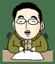 Ojisan Sticker sticker #85859