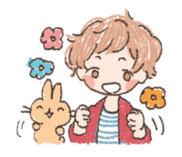 Mao-kun and Chakotan sticker #85882