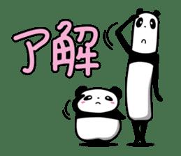 TEN-NEN PANDA sticker #85938