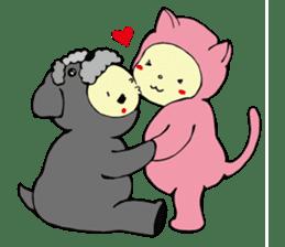 I am kigurumin sticker #85956