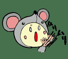 I am kigurumin sticker #85974