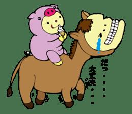 I am kigurumin sticker #85977