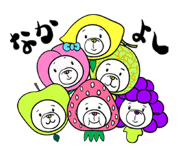 FRUIT DOG sticker #86195