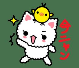 moko-neko sticker #86407