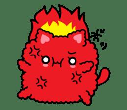 moko-neko sticker #86421
