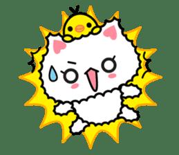 moko-neko sticker #86422
