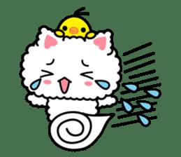 moko-neko sticker #86423