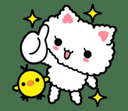 moko-neko sticker #86429