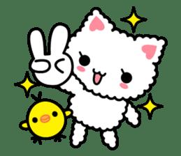 moko-neko sticker #86435