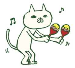Mr.Nekoyama sticker #86978