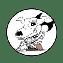 kuroihi  characters sticker #87093