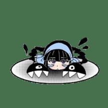 kuroihi  characters sticker #87099