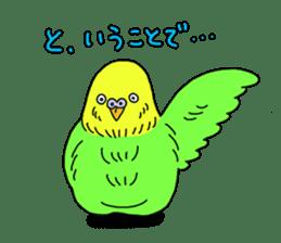 Parakeet! sticker #87252