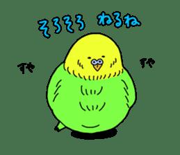 Parakeet! sticker #87257