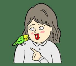 Parakeet! sticker #87258
