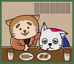 Cat? Zombie? Nekonzo-san! sticker #88400