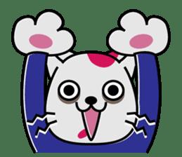 Cat? Zombie? Nekonzo-san! sticker #88402