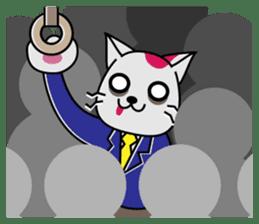 Cat? Zombie? Nekonzo-san! sticker #88403