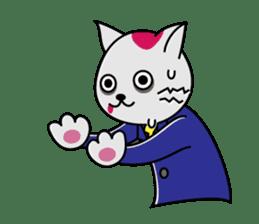 Cat? Zombie? Nekonzo-san! sticker #88405