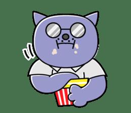 Cat? Zombie? Nekonzo-san! sticker #88406