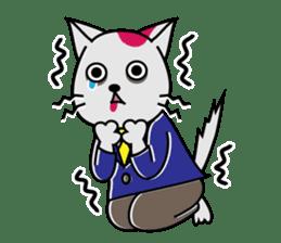 Cat? Zombie? Nekonzo-san! sticker #88407