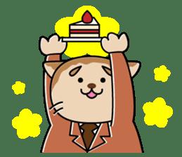 Cat? Zombie? Nekonzo-san! sticker #88408