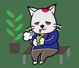 Cat? Zombie? Nekonzo-san! sticker #88414