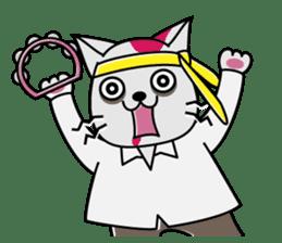 Cat? Zombie? Nekonzo-san! sticker #88420