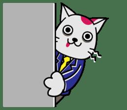 Cat? Zombie? Nekonzo-san! sticker #88423