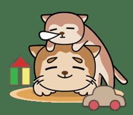 Cat? Zombie? Nekonzo-san! sticker #88424