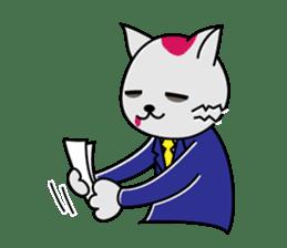 Cat? Zombie? Nekonzo-san! sticker #88426