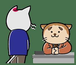Cat? Zombie? Nekonzo-san! sticker #88430