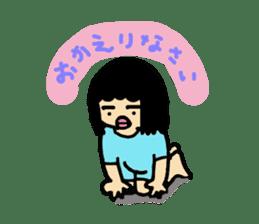 Mu-san&Hanadekakun sticker #88482