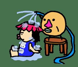 Mu-san&Hanadekakun sticker #88487