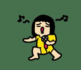 Mu-san&Hanadekakun sticker #88489