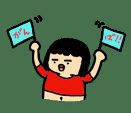 Mu-san&Hanadekakun sticker #88490