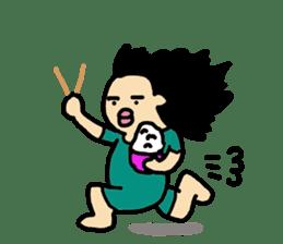 Mu-san&Hanadekakun sticker #88493