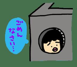 Mu-san&Hanadekakun sticker #88494