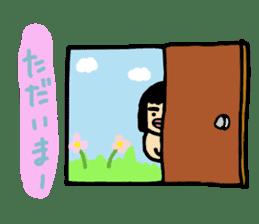 Mu-san&Hanadekakun sticker #88498