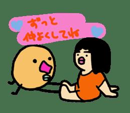 Mu-san&Hanadekakun sticker #88501