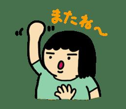 Mu-san&Hanadekakun sticker #88504