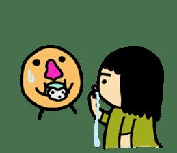 Mu-san&Hanadekakun sticker #88508