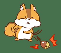 I am squirrel, 3 years old. sticker #88770