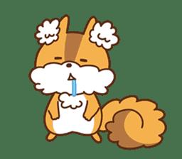 I am squirrel, 3 years old. sticker #88780