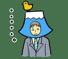 office workers, Mt.Fuji Takeru sticker #89279