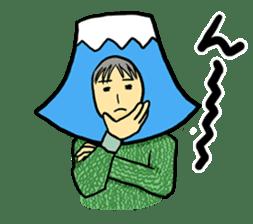 office workers, Mt.Fuji Takeru sticker #89290