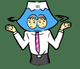 office workers, Mt.Fuji Takeru sticker #89294