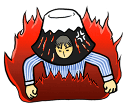 office workers, Mt.Fuji Takeru sticker #89295