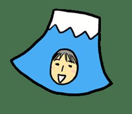 office workers, Mt.Fuji Takeru sticker #89299
