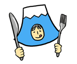 office workers, Mt.Fuji Takeru sticker #89303